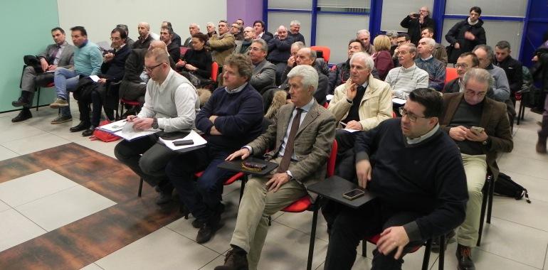 I sindaci presenti all'assemblea dei soci di Scrp