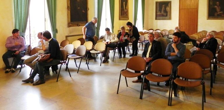 Alcuni sindaci presenti all'incontro