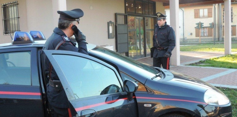 Carabinieri di Pandino (foto archivio)