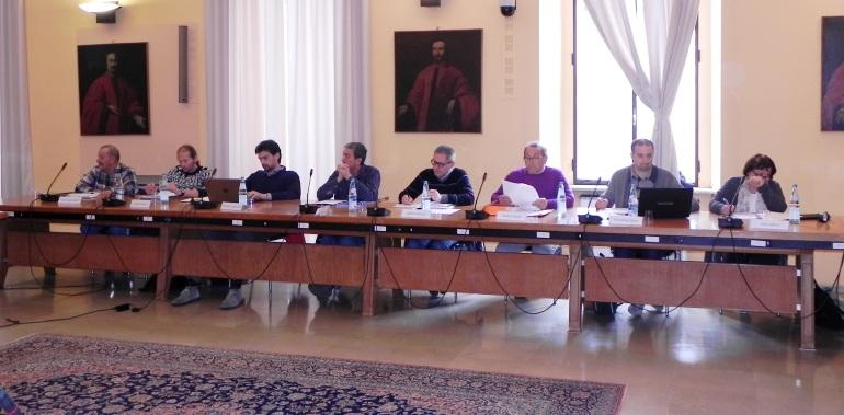Alcuni esponenti di maggioranza: Stanghellini, Sartori, Coti Zelati, Mombelli, Giossi, Guerini E., Valdameri, Caso