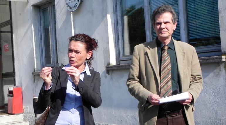 Stefania Bonaldi e Filippo Fiorello