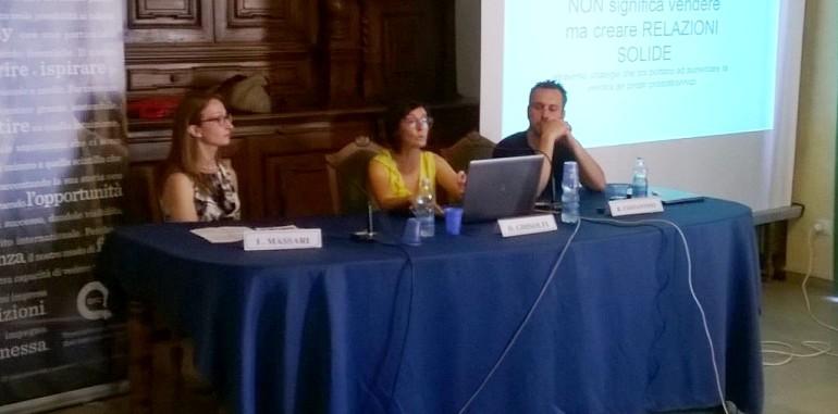 Ilaria Massari, Deborah Ghisolfi, RIccardo Costantino