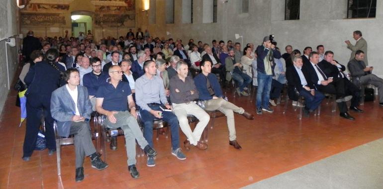 Sala Pietro da Cemmo, alcuni presenti all'incontro