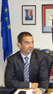 Il dirigente del Commissariato Daniel Segre