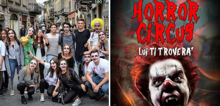 Halloween Gruppo.Horror Circus La Festa Di Halloween Organizzata Dal Gruppo Slu