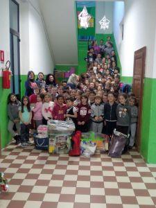 I bambini della scuola di Postino