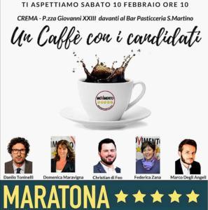 39 un caff col candidato 39 gli esponenti del m5s incontrano for Camera deputati centralino